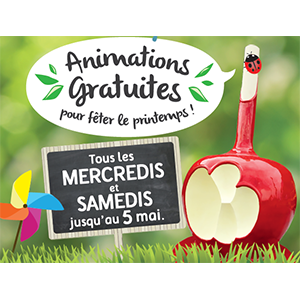 Programme des animations de printemps !