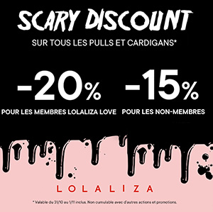 Scary Discount !
